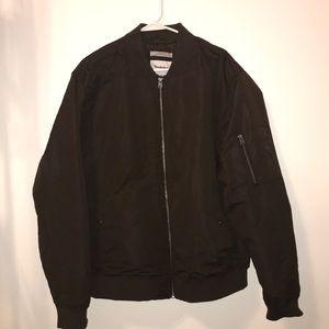 Thick, padded, men's bomber jacket/coat